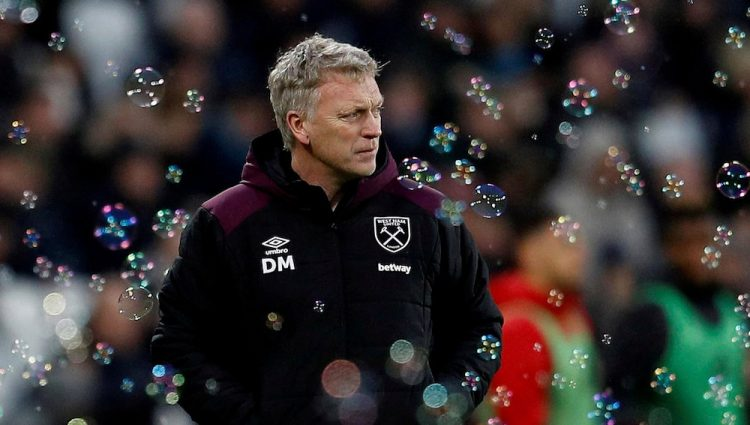 West Ham boss David Moyes saw his side come from 3-0 down at Tottenham on Sunday.
